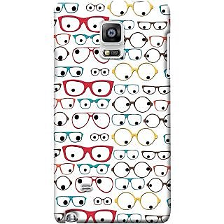 Kasemantra Quirky Spectacles Case For Samsung Galaxy Note N7000