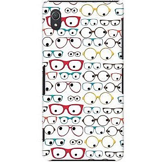 Kasemantra Quirky Spectacles Case For Sony Xperia Z2