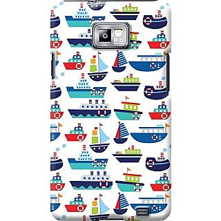 Kasemantra River Boats Case For Samsung I9100 Galaxy S2