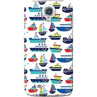 Kasemantra River Boats Case For Samsung Galaxy S4 Mini I9190