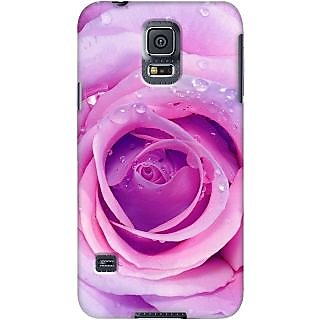 Kasemantra Rosy Rose Case For Samsung Galaxy S5 Mini SM G800