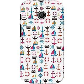 Kasemantra Sail The Boat Case For Motorola Moto E