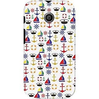 Kasemantra Sailor on Duty Case For Motorola Moto E