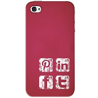 Kasemantra Social Media Icons Case For Apple iPhone 4, Apple iPhone 4S