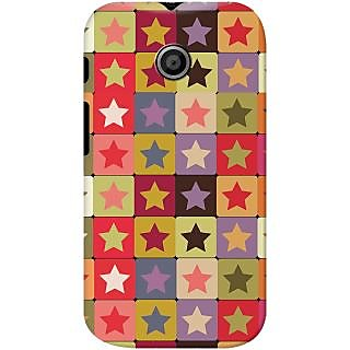 Kasemantra Star In Square Case For Motorola Moto E