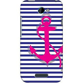 Kasemantra Striped Anchor Case For HTC One S