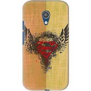 Kasemantra Superman Logo Case For Motorola Moto G2