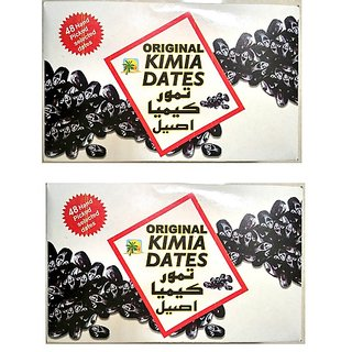ORIGINAL KIMIA DATES 2's Pack 48 Dates Pcs  Premium Quality  From IRAN
