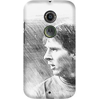 Kasemantra Messi Sketch Case For Moto X2