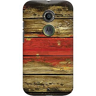 Kasemantra Textured Wood Case For Moto X2