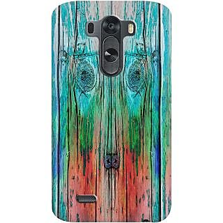 Kasemantra Wooden Plank Case For Lg G3