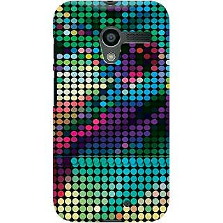 Kasemantra Neon Dots Case For Moto X