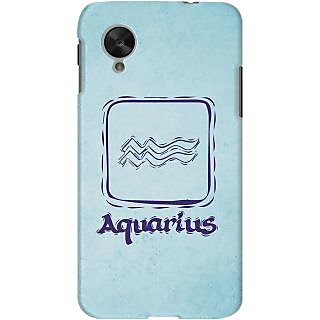 Kasemantra Romantic Aquarius Case For Google Nexus 5