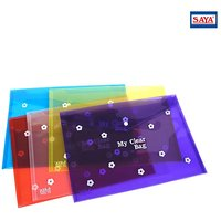 Transparent Bag Folder (Set Of 12 Pieces)