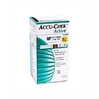 Accu-Chek Active Test Strip Box  (10 Strips) - Combo of 5