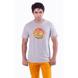 Puma Men's Grey T-Shirt