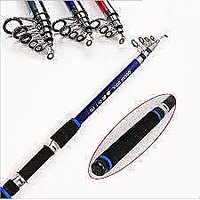 Telescopic fishing rod Carbon Fishing Rod 6 fit long For Saltwater/Freshwater