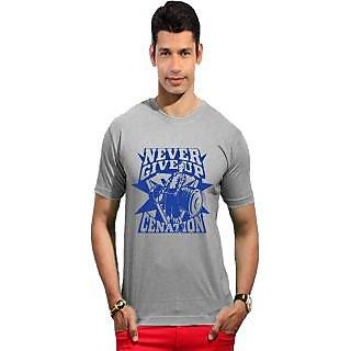Men's Cotton T Shirt Grey