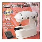 4 In 1 Mini Sewing Machine With Adaptor And Pedal