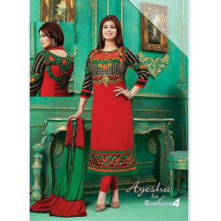 Aisha Ka Tashan4 Embroidered With Chiffon Dress Material