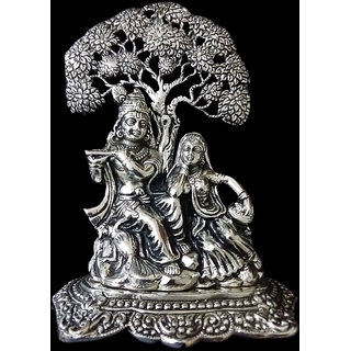 Friends India Metal Radha Krishna Tree (Diwali Gift)