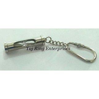 Brass Sand Timer Key Ring
