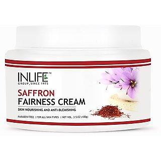 Inlife Saffron Fairness Cream (100g)