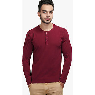 WYM Men's T-Shirts Maroon