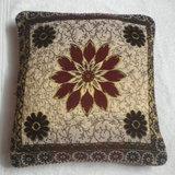 JBG Home Store Velvetee Center Flower Design Cushion Covers ( Set Of 5) - Design 1
