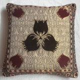 JBG Home Store Velvetee Center Flower Design Cushion Covers ( Set Of 5) - Design 2