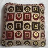 JBG Home Store Velvetee Ethnic Block Design Cushion Covers ( Set Of 5) - Design 3