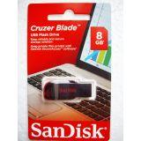SanDisk Cruzer Blade 8 GB Pen Drive - 8 GB Flash Drive - 5 Year Warranty