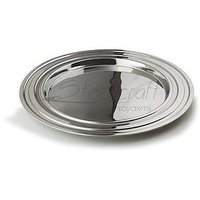 Steel Craft Stainless Steel  Designer Dinner Plates