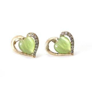 Saloni Jewels Fashion Earrings (Green)