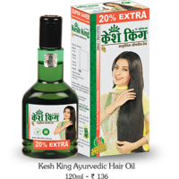Kesh King Hair Oil - 120ml