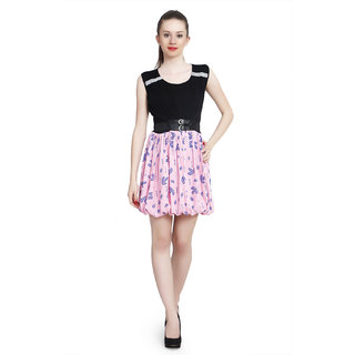 London Off Short Pink dress