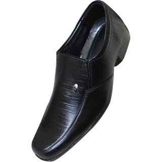 Menzoni Men's Black Slip On Formal Shoes