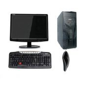 DESKTOP PC FULL SYSTEM WITH 17 INCH LED AND NEW CORE 2DUO 2GB/160 GB