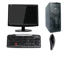DESKTOP PC FULL SYSTEM WITH 17 INCH LED AND NEW CORE 2DUO 2GB/500 GB