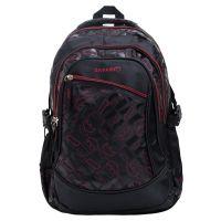 Safari Zinger 4 Red Black Backpack