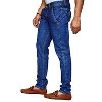 Jovial Mart Cotton Lycra Dark Blue Jeans