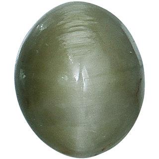 Vardan Gems 5.1 Oval Carat Cats Eye (Lehsunia) Birthstone Gemstone