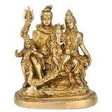 Redbag Lord Gauri- Shankar With Ganesha Brass Statue