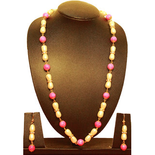 Semi-Precious Necklace Set