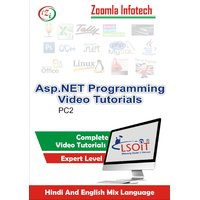 Asp.Net Tutorials DVD By Zoomla Infotech (Hindi-English Mix Language DVD)