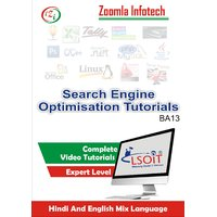 Search Engine Optimization( SEO) Video Tutorials DVD In Hindi And English Mix Language By Zoomla Infotech
