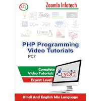 PHP Video Tutorials DVD By Zoomla Infotech (Hindi-English Mix Language DVD)