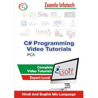 C Sharp Tutorials DVD By Zoomla Infotech (Hindi-English Mix Language DVD)
