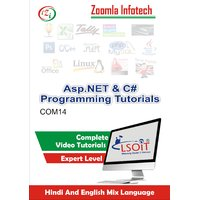 ASP.NET+ C SHARP Video Tutorials DVD By Zoomla Infotech (Hindi-English Mix Language DVD)