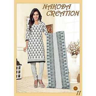 Nakoda Creation 100 Cotton Designer And Attractive unstitched Salwar Suits